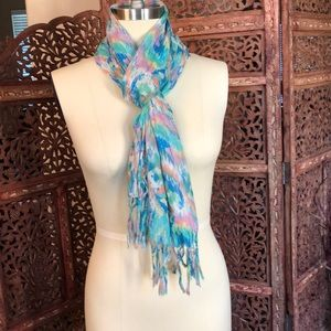 Charming Charlie's watercolor scarf